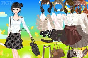 《美女服饰搭配》游戏画面3