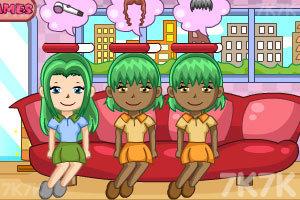 《甜蜜发型屋》游戏画面2