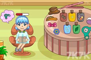 《甜蜜发型屋》游戏画面4