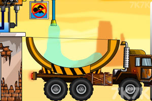 《水资源运输车》游戏画面1