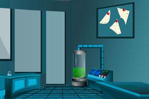 《逃出科学家密室》游戏画面1