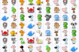 《动物连连看》游戏画面1
