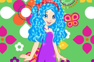 《宝莉的可爱发型》游戏画面1