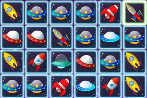 《太空船连连看》游戏画面1