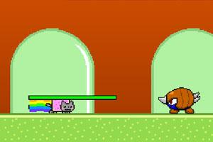 《霓虹猫版马里奥》游戏画面1