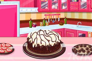 《制作美味冰淇淋蛋糕》游戏画面5