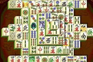 《新上海麻将连连看》游戏画面1