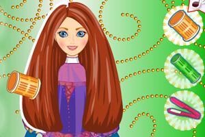 《梅里达公主的发型》游戏画面1
