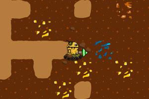 《机器人挖宝石》游戏画面1
