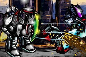 《后现代格斗》游戏画面1