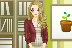 《时尚都市白领装》游戏画面1