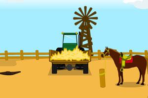 《沙漠牧场寻找票根》游戏画面1