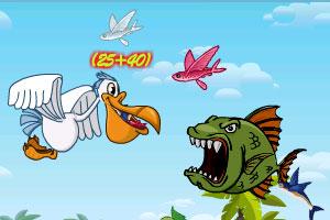 《海鸥妈妈捕鱼记》游戏画面1