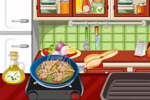 《麻辣鸡肉卷》游戏画面1