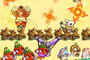 《燃烧的蔬菜2选关版》游戏画面2