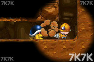 《小矿工成长记无敌版》游戏画面1