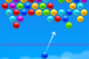 《彩球泡泡射击》游戏画面1