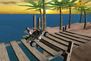 《四轮越野摩托》游戏画面1