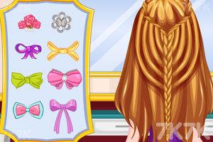 《夏季流行发型》游戏画面5
