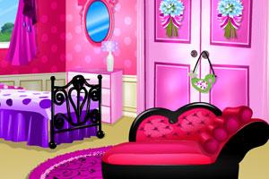 《粉色卧室装饰》游戏画面1