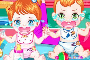 《照顾双胞胎宝贝》游戏画面2