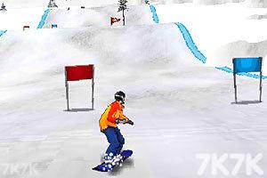 《花样滑雪之王无敌版》游戏画面2
