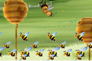 《轻舞飞扬的小蜜蜂》游戏画面1