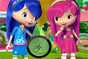 《草莓女孩儿找数字》游戏画面1