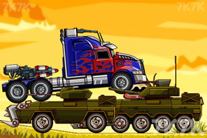 《擎天柱战坦克》游戏画面3