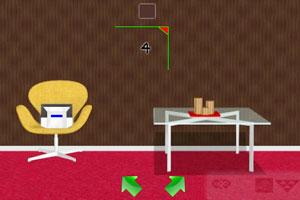 《逃离红色箱子房间》游戏画面1