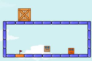 《弹跳的盒子再生版2》游戏画面1