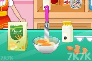 《制作小汽车蛋糕》游戏画面4