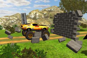 《四轮驱动大脚车》游戏画面1