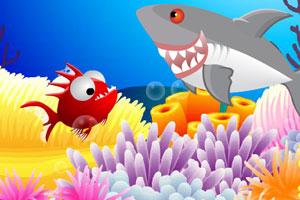 《吃小鱼》游戏画面1