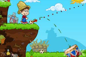 《快乐的农场足球》游戏画面1