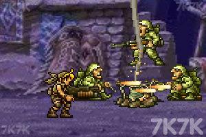 《合金弹头之沙漠孤城》游戏画面7