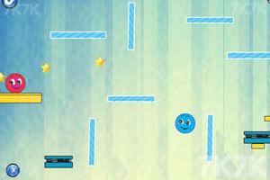 《蓝球和红球》游戏画面2