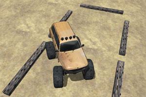 《怪物大脚车停靠》游戏画面1