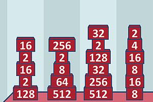 《2048数学天才》游戏画面1