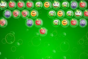 《笑脸水果泡泡龙》游戏画面1