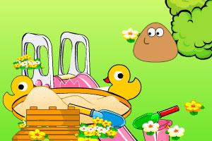 《土豆君装饰花园》游戏画面1