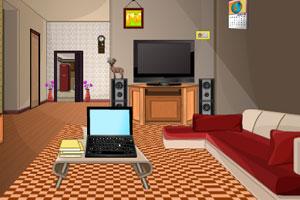 《休息客厅逃脱》游戏画面1