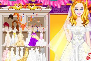 《试穿婚纱》游戏画面2