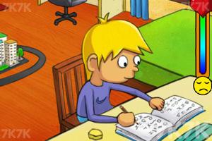 《乖乖寫作業》游戲畫面3