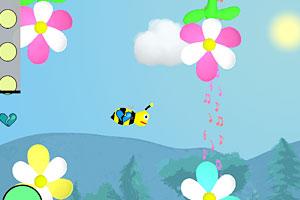 《舞动的蜜蜂》游戏画面1