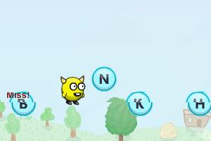 《奔跑的字母英雄》游戏画面1