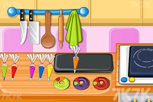 《烤彩虹甜甜圈》游戏画面5