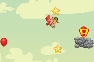 《小猴汤米开飞机》游戏画面1