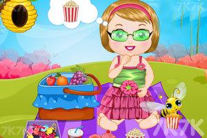 《麦丽莎的野餐日》游戏画面1