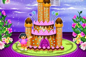 朵拉的城堡蛋糕
